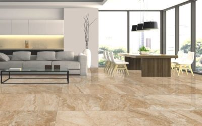 What are porcelain tiles?